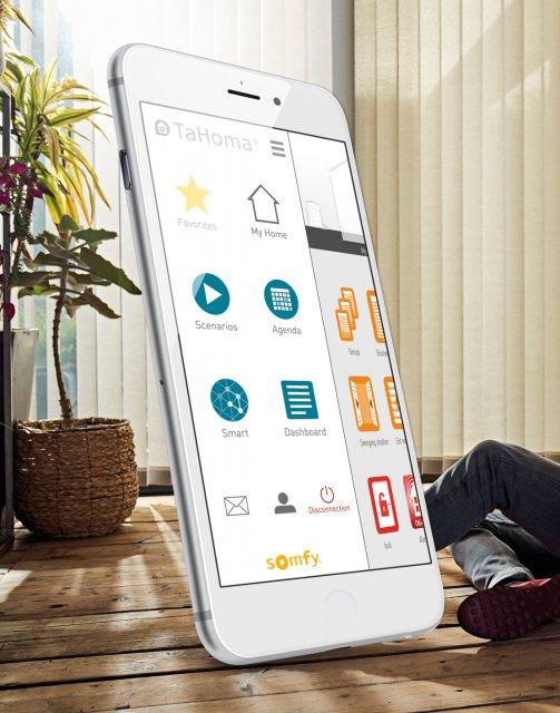 Smart Home Solskjerming